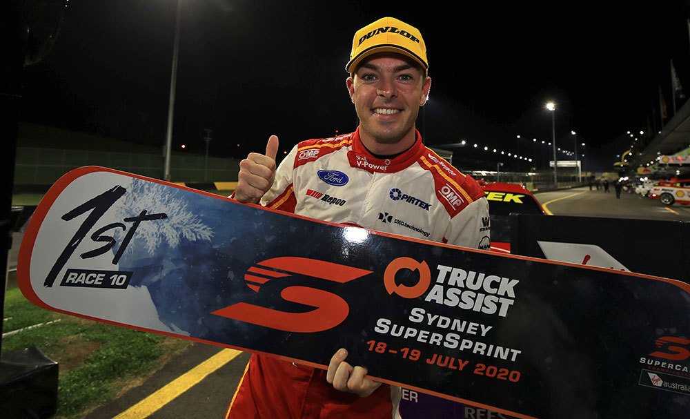 McLaughlin Wins Night Race at Sydney Supersprint