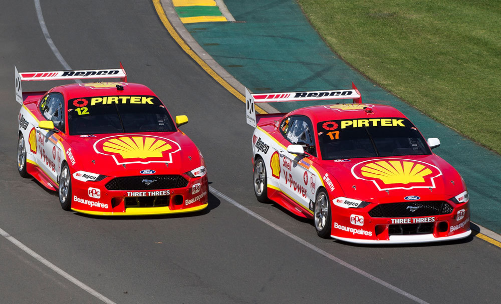 Top 10 Qualifying Pace For Shell Mustangs At AGP
