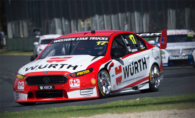 Marcos Ambrose Toughs It Out In Race 3 At Albert Park