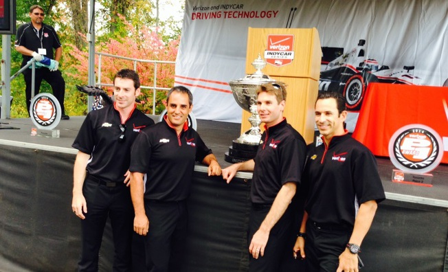 Team Penske Celebrates 2014 Championship with Verizon