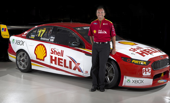 Shell Helix On The Grid With DJR Team Penske