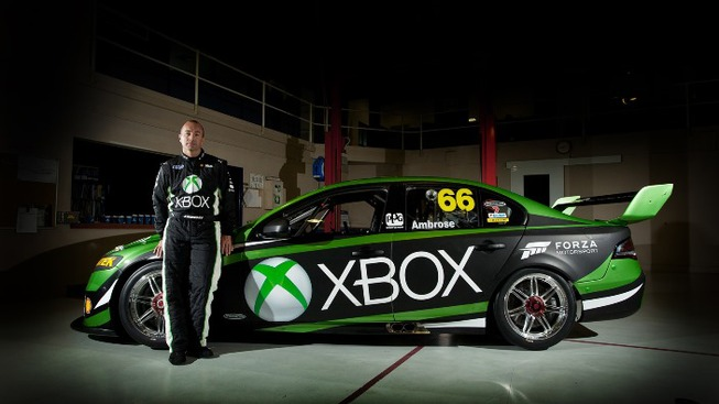 Xbox Australia Partners with Dick Johnson Racing