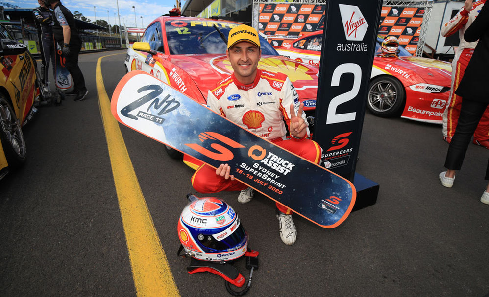 Double Podium For The Shell V-Power Racing Team On Final Day At Sydney Supersprint