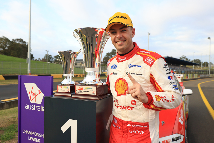PODIUM, POLE POSITION AND RACE WIN FOR MCLAUGHLIN