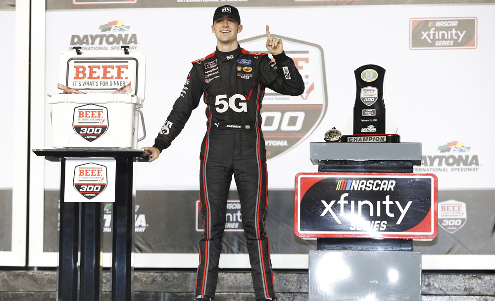 Team Penske NASCAR Xfinity Series Race Report - Daytona
