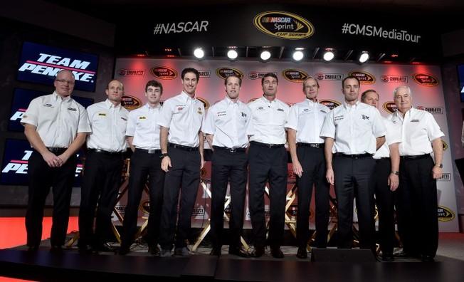 Team Penske Talks 2015 on NASCAR Media Tour