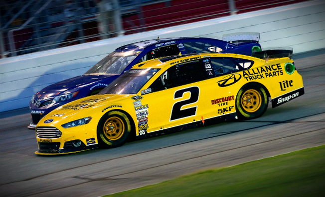Accident Forces Keselowski to Retire Early in Atlanta
