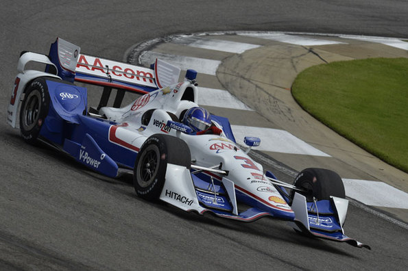 Helio Castroneves Pole Winning Notes - Barber Motorsports Park