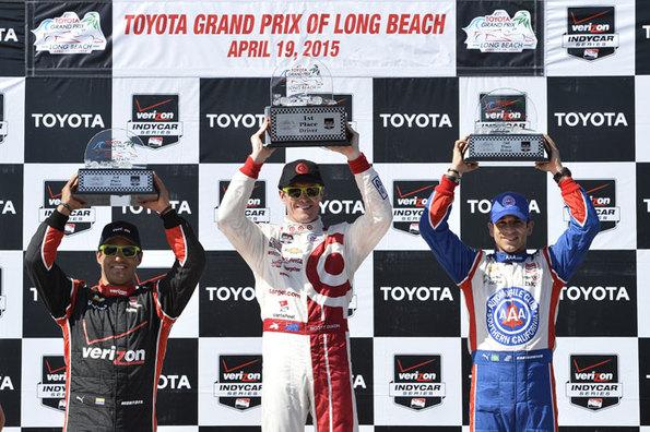 Team Penske Verizon IndyCar Series Race Report - Long Beach