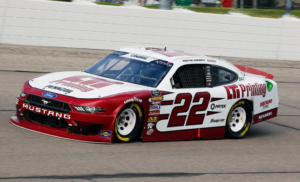 Superior Team Penske NASCAR XFINITY Series Race Report