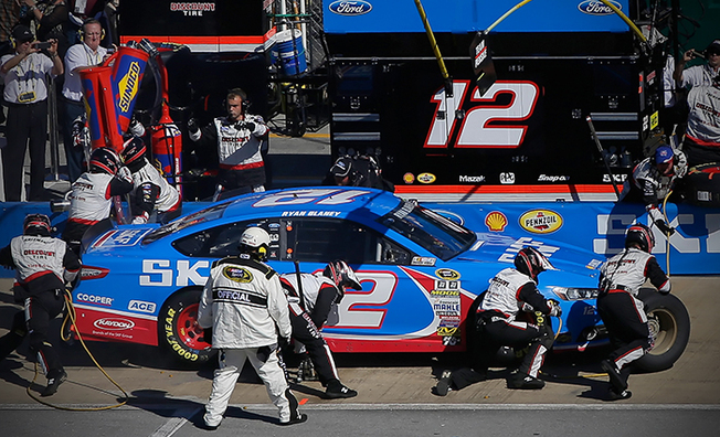 Blaney Finishes 22nd At Talladega Superspeedway