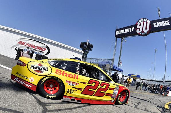 Team Penske NASCAR Sprint Cup Series Qualifying Report - Richmond