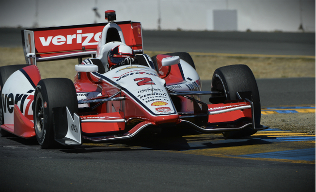 Montoya Fights His Way to a Top-5 Finish at Sonoma
