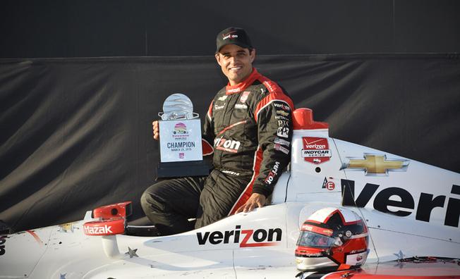 Juan Pablo Montoya Victorious In IndyCar Season Opener