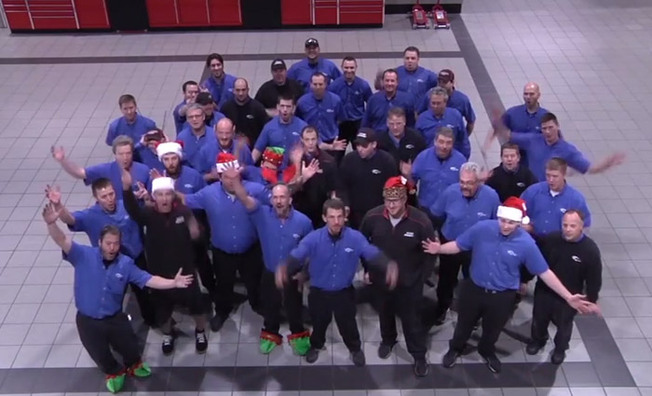 Video: The Penske Files - 12 Days of Christmas