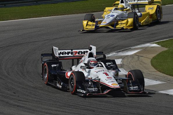 Team Penske Verizon IndyCar Series Race Report - Barber