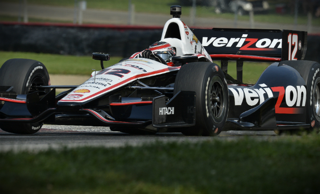 Sixth-Place Result for Will Power at Mid Ohio