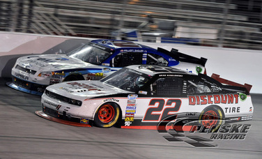 Keselowski Earns Hard-Fought 2nd-Place Finish at AMS