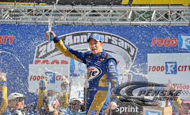 Keselowski Guides Miller Lite Dodge to Victory