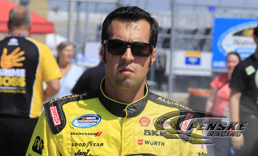 Hornish Qualifies 3rd at Chicagoland Speedway