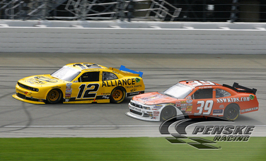 Hornish Finishes Eighth at Chicagoland Speedway