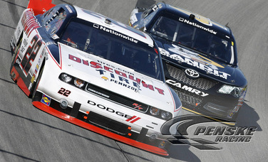 Keselowski Rallies to a 4th-Place Finish at Chicagoland
