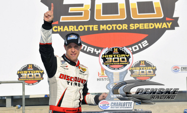 Keselowski Scores Nationwide Win in History 300 at CMS