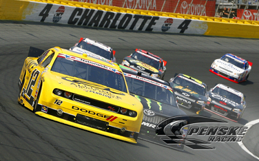 Hornish Brings Alliance Parts Dodge Challenger Home 9th
