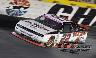 Keselowski Finishes 18th at Charlotte Motor Speedway