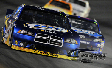 Keselowski Leads Most Laps and Finishes 11th at CMS