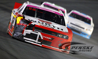 Early Race Contact Relegates Hornish to 35th-Place