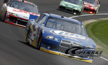 Keselowski Scores 2nd Top-10 Finish in Brickyard 400