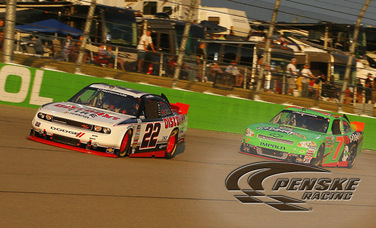 Blaney Finishes 10th at Iowa in His Penske Racing Debut