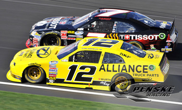 Hornish Posts a Ninth-Place Finish at Kansas Speedway