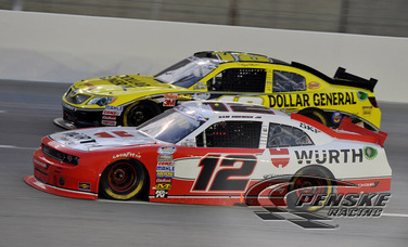Hornish Emerges from Kentucky with a 6th-Place Finish
