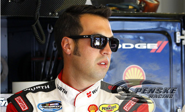 Hornish Qualifies 4th for Feed the Children 300