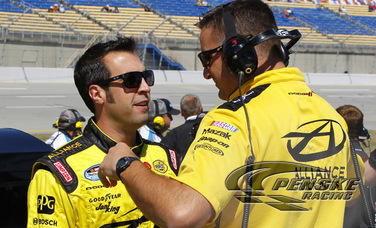 Hornish Earns a 3rd-Place Starting Position at Kentucky