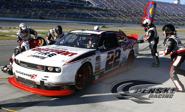 Blaney Finishes Ninth After Hard Battle at Kentucky
