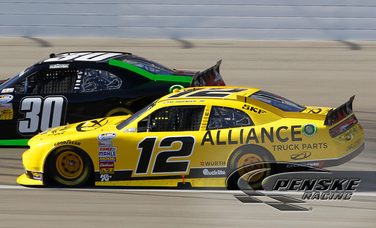 Hornish Earns Hard Fought Ninth-Place Finish At Las Vegas