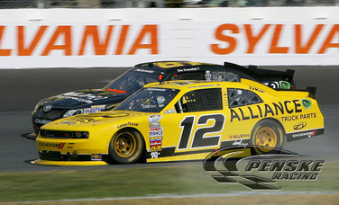 Hornish Scores a Strong 4th-Place Finish