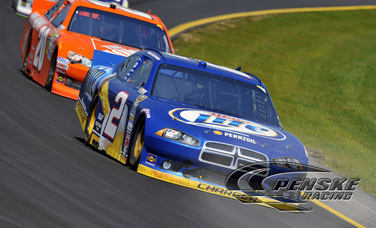 Keselowski Perseveres to 18th-Place Finish at Pocono