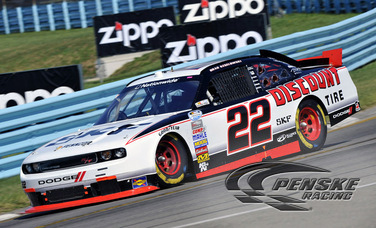 Keselowski Finishes 2nd at Watkins Glen International