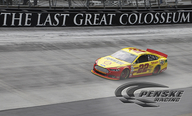 Top-5 Finish for Logano at Bristol Motor Speedway