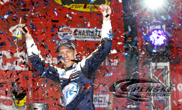 Keselowski Scores 10th Career NASCAR Sprint Cup Victory
