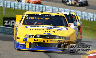 Strong Second-Place Effort for Hornish at Watkins Glen