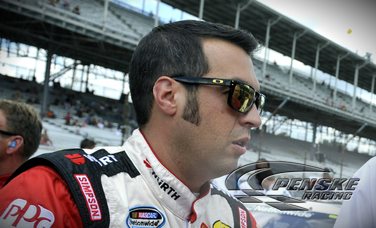Hornish to Start 13th at Bristol Motor Speedway