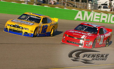 Hornish Finishes Second in Penske Racing Sweep at Iowa