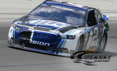 Keselowski Recovers from Accident to Finish 33rd