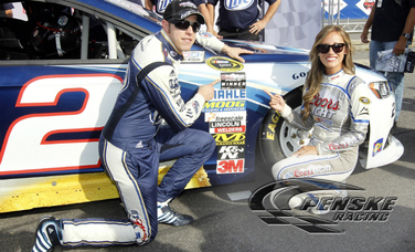 Keselowski Qualifies On the Pole at New Hampshire