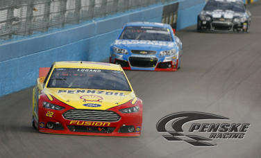Logano Finishes in the Top-10 at Phoenix